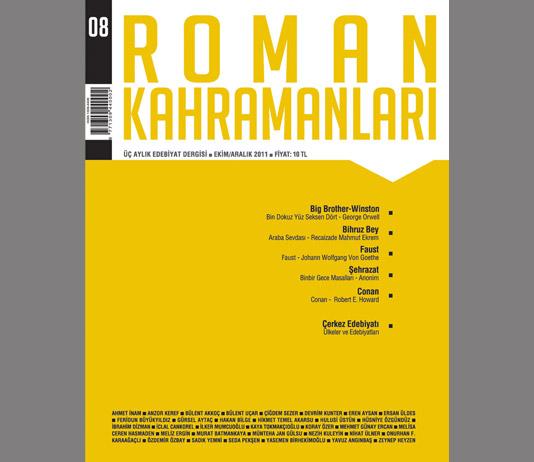 Roman Kahramanları 8. Sayı