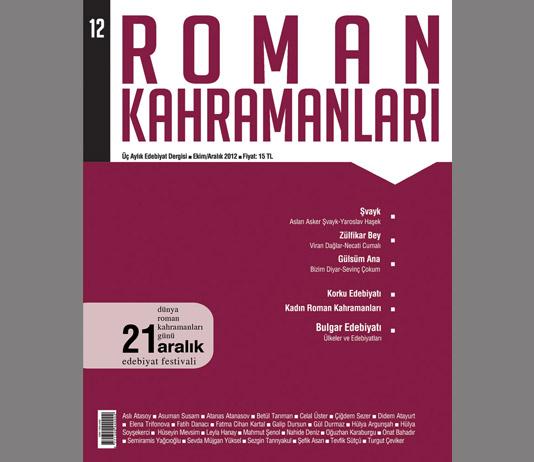 Roman Kahramanları 12. Sayı