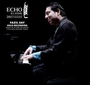 25. Echo Klassik Ödülüne Fazıl Say Layık Görüldü