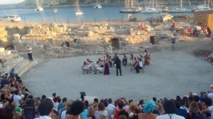 Knidos'ta 2000 Yıl Sonra İlk Konser