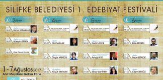 Silifke'de Edebiyat Festivali Başlıyor!