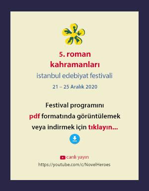 RK istanbul edebiyat festivali programı